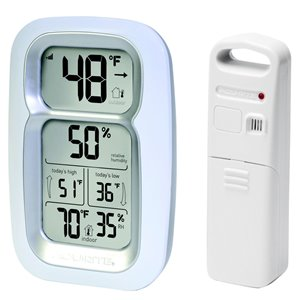 AcuRite Wireless Digital Clock with Thermometer