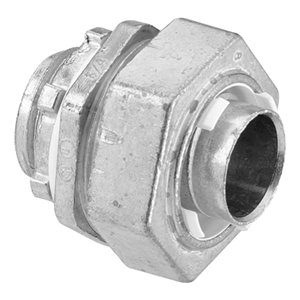 Iberville Straight Liquid-Tight Zinc Alloy Connector