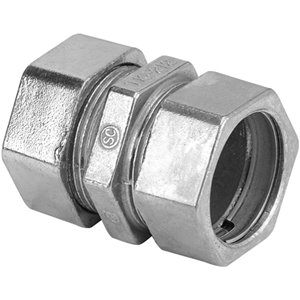 Iberville 1/2-in Compression Coupling (4-Pack)