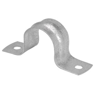 Iberville 2-in EMT Two-Hole Strap (2-Pack)