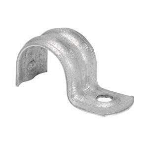 Iberville 1/2-in EMT One-Hole Strap (10-Pack)