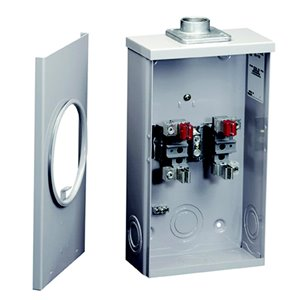 Microlectric 100-Amp Ring Single Phase (120/240) Meter Socket