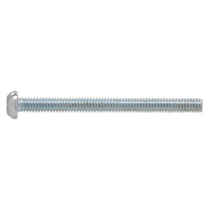 Hillman #8-32 Zinc-Plated Round-Head Square Standard (SAE) Machine Screws