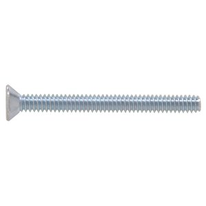 Hillman #10-24 Zinc-Plated Flat-Head Square Standard (SAE) Machine Screws