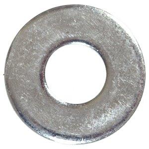 #8 Zinc-Plated Steel Standard (SAE) Flat Washers