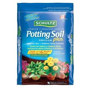 Schultz 28L Premium Potting Soil Plus Potting Mix