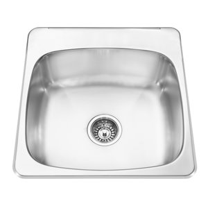 Kindred Single-Basin Drop-In Kitchen Sink
