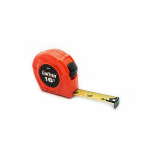 Lufkin Tape Measure, 3/4 In. x 16 Ft. Hi-Viz Orange Power Return