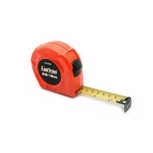 Lufkin Tape Measure, 1 In. x 8 m Hi-Viz� Orange Metric Power Return