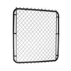 48-in x 42-in Galvanized Steel Black Chain-Link Walk-thru gate