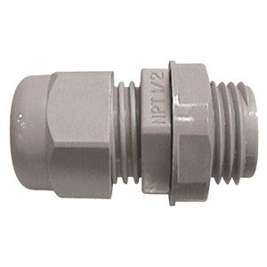 CARLON Carlon CGC-075 3/4inch PVC NPT Gray Cord Grip