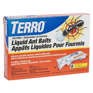 TERRO 1-Count Ready-to-Use Ant Bait Station Cartridge (6-Pack)