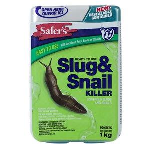 Safer Slug&Snail Bait/Killer 1 kg