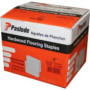 Paslode 2-in 15-Gauge Hardwood Flooring Staples (1,000-Count)