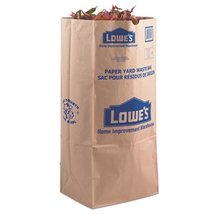 Paper Yard Waste Bag 5 Pack Lowe S Canada
