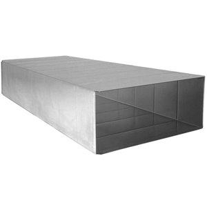 8-in x 8-in x 60-in 30-Gauge Galvanized Steel Trunk Duct