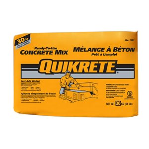 QUIKRETE 30KG Concrete Mix
