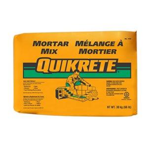 QUIKRETE Quikrete 66-lbs Gray Brick Mortar Mix