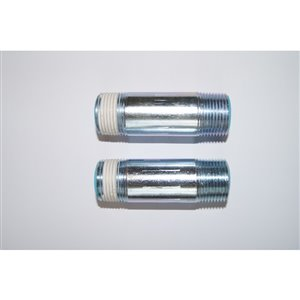 2-Pack Water Heater Heat Trap Nipple Set (Inlet and Outlet)