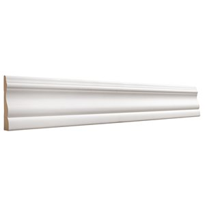 5/8 x 2-3/4 x 7-ft Primed MDF Colonial Casing Moulding