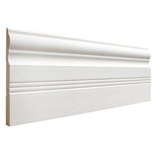 19/32 x 6-1/2 x 8-ft 1/2-in x 1 3/8-in x 7-ft Interior Stain Grade Oak Stop Moulding (Pattern 936)