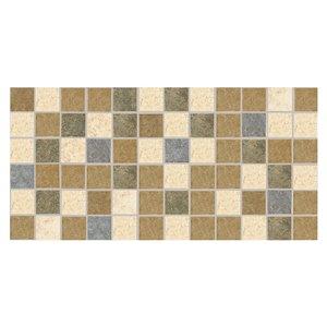 American Olean Lyndhurst 12-in x 12-in Meadow Porcelain Mosaic Floor and Wall Tile
