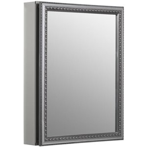 KOHLER 20-in x 26-in Rectangle Recessed Medicine Cabinet with Mirror