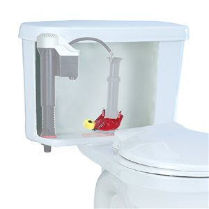2-in Dia. Korky Plus Universal Adjustable Rubber Toilet Flapper