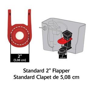2-in Dia. Korky Rubber Toilet Flapper - For Kohler 83064