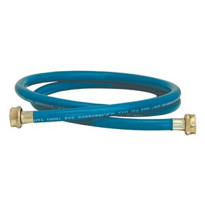 EASTMAN 6-ft L 3/4-in Hose Thread Inlet x 3/4-in Outlet Rubber Washing Machine Connector