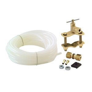 EASTMAN 25-ft L 1/4-in OD Inlet x 1/4-in Outlet Polyethylene Ice Maker-Installation Kit