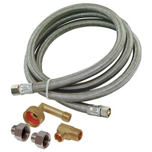 3/4-in Dia x 5-Ft 1500 PSI Universal Braided Stainless Steel Dishwasher Connector