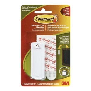 3M Command Large Sawtooth Picture Hook