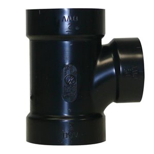 2-in x 2-in x 1-1/2-in Dia. ABS Sanitary Tee Fitting