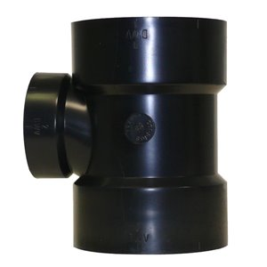 3-in x 3-in x 2-in Dia. ABS Sanitary Tee Fitting