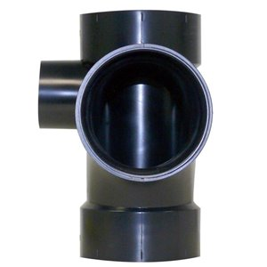 3-in x 3-in x 1-1/2-in Dia. ABS Sanitary Tee Fitting L/Side