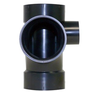 3-in x 3-in x 1-1/2-in Dia. ABS Sanitary Tee Fitting R/Side