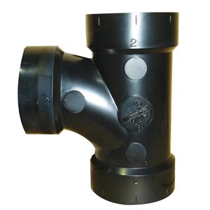 2-in Dia. ABS Sanitary Tee Fitting