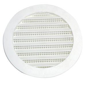 White Plastic Whole House Gable Vent