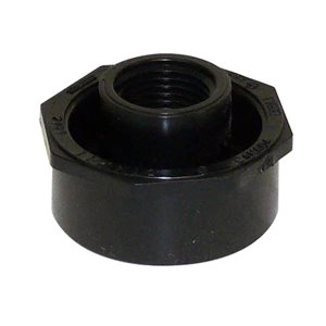 1-1/2-in x 1/2-in Dia. ABS Flush Bushing Fitting