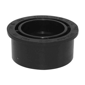 3-in x 2-in Dia. ABS Flush Bushing Spigot Fitting