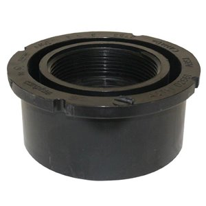 4-in x 3-in Dia. ABS Flush Bushing Fitting