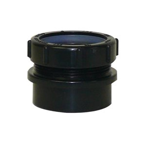 2-in Dia. ABS Slip Joint Trap Adapter Fitting