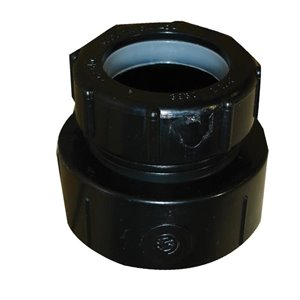 1-1/4-in Dia. ABS Slip Joint Trap Adapter Fitting