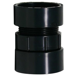 Canplas 1 1/2-in ABS Trap Adapter Fitting