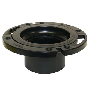 4-in x 3-in Dia. ABS Closet Flange Fitting