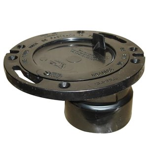 4-in x 3-in Dia. ABS Offset Closet Flange Fitting