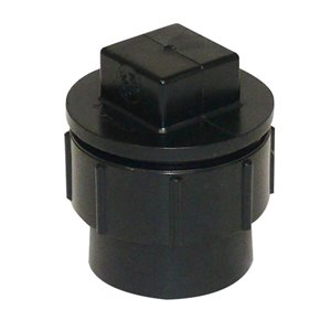 1-1/4-in Dia. ABS Cleanout Adapter Fitting w/Plug