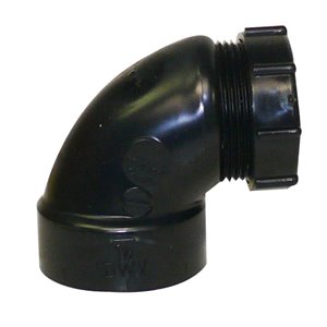 1-1/2-in Dia. 90-Degree ABS Slip Joint Trap Adapter Fitting