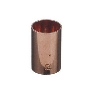 1/2-in Dia. Compression Solder Coupling w/Stop Fitting